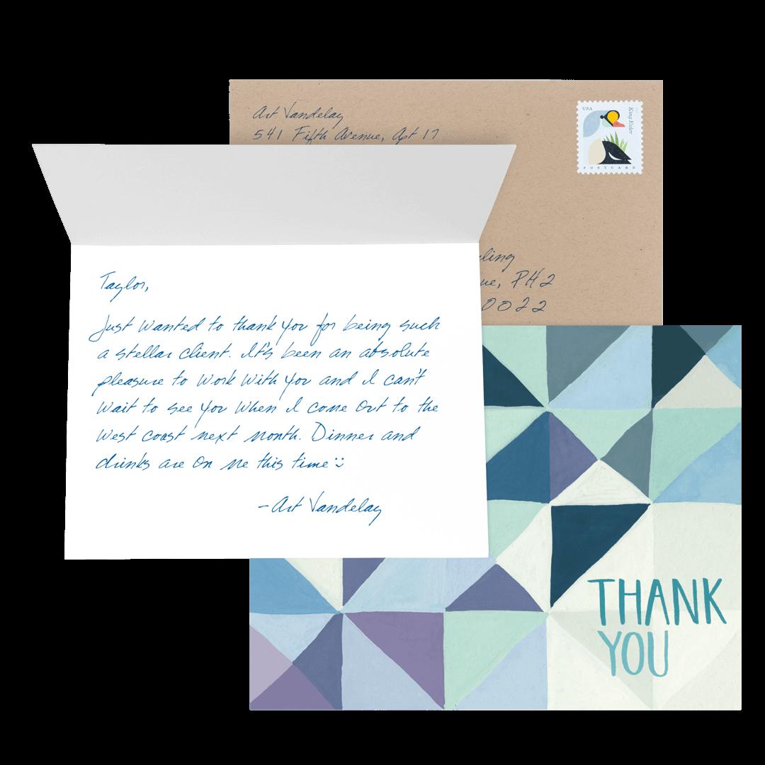 Custom Business greeting cards